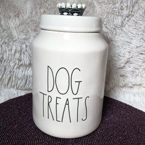 RAE DUNN DOG TREATS CANISTER LL PET FOOD
